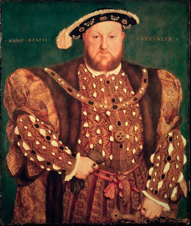 Frauennichtversteher und Fußballnarr: Heinrich VIII. von England (1491-1547); Sotheby's / akg-images