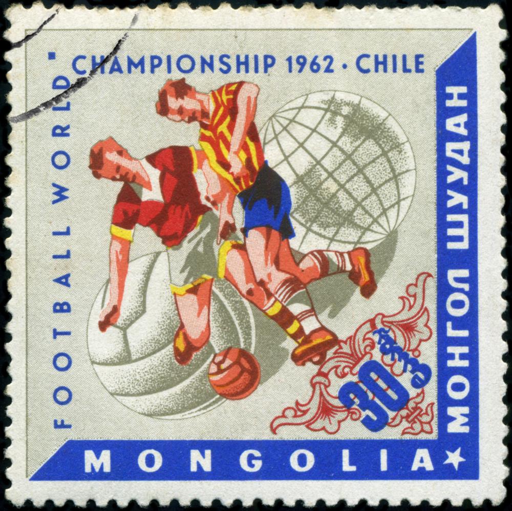 Briefmarke 1962 Chile