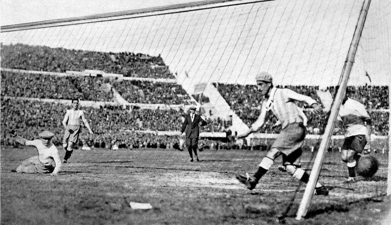 Argentinien gegen Uruguay 1930 Finale WM
