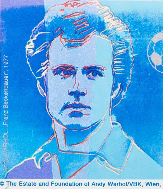 Franz Beckenbauer, Andy Warhol