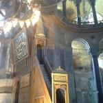 Innenasicht Hagia Sophia