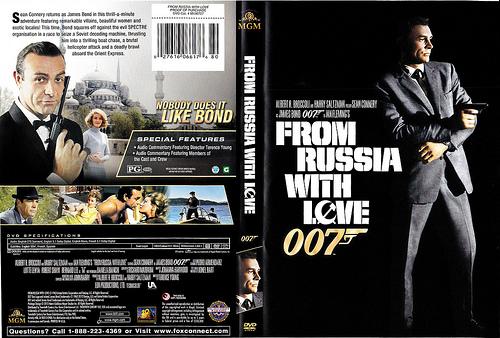 Liebesgrüße aus Moskau Bond