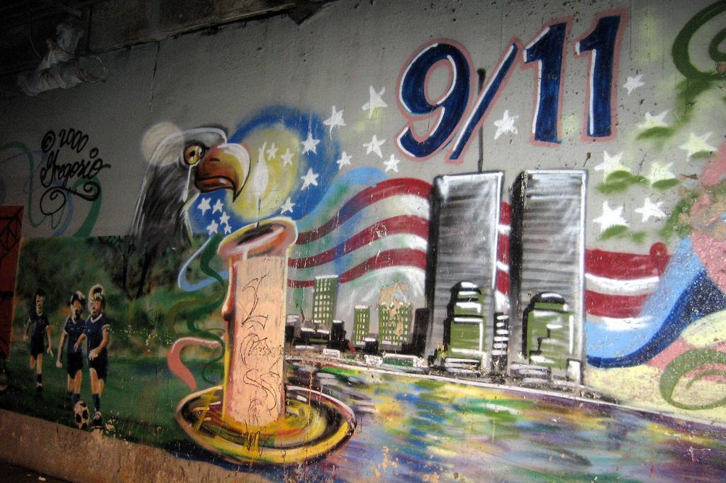 graffiti_ 9/11