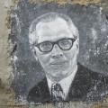 Honecker auf einer Wand gemalt