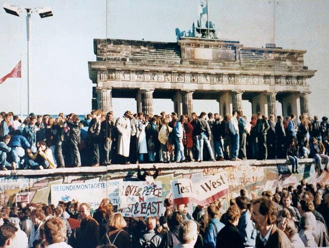 Fall der Berliner Mauer 9. November 1989