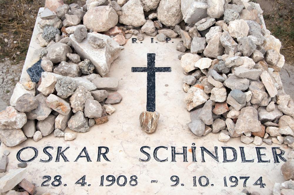 Grab Oskar Schindlers in Jerusalem