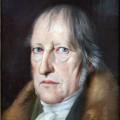 Porträt von Hegel