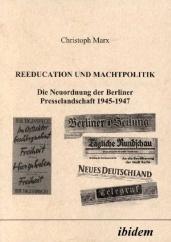 Buchcover Reeducation und Machtpolitik