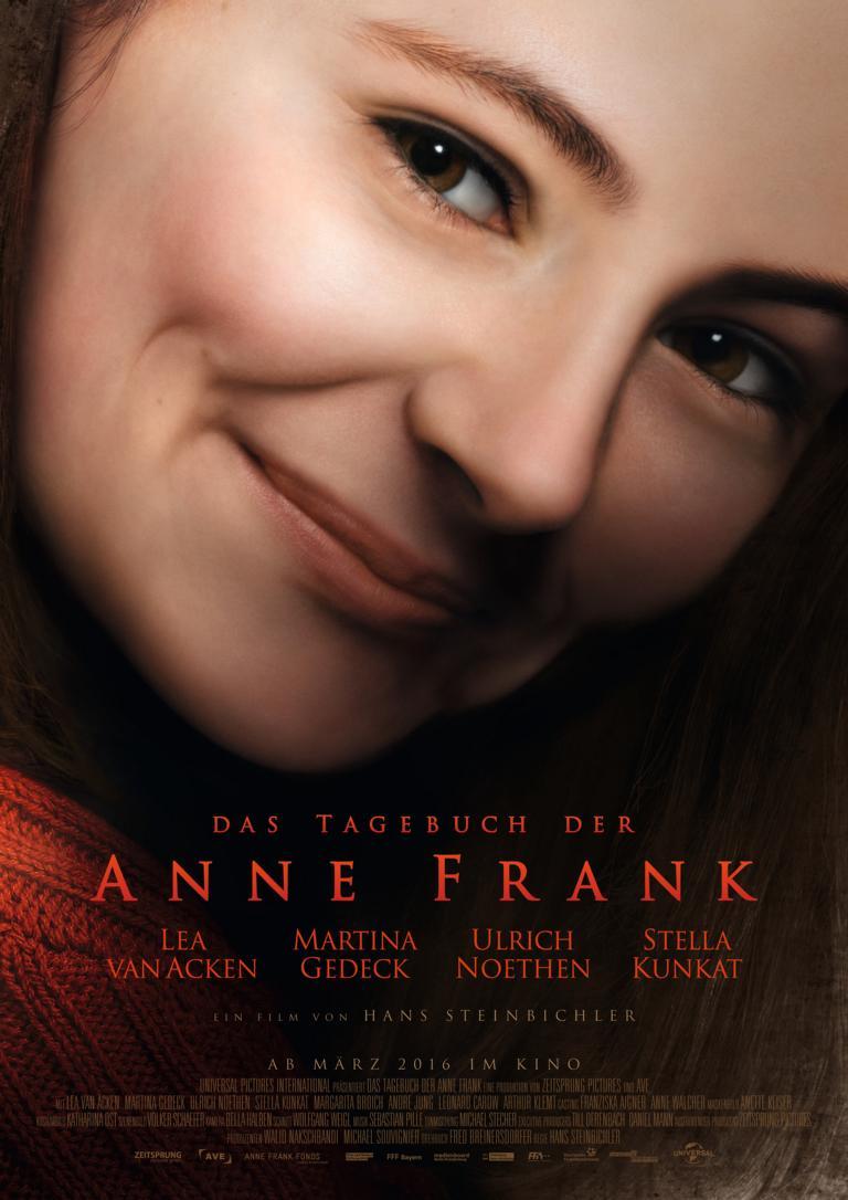 Filmplakat Anne Frank