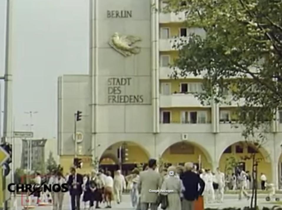 Ostberlin Fassade