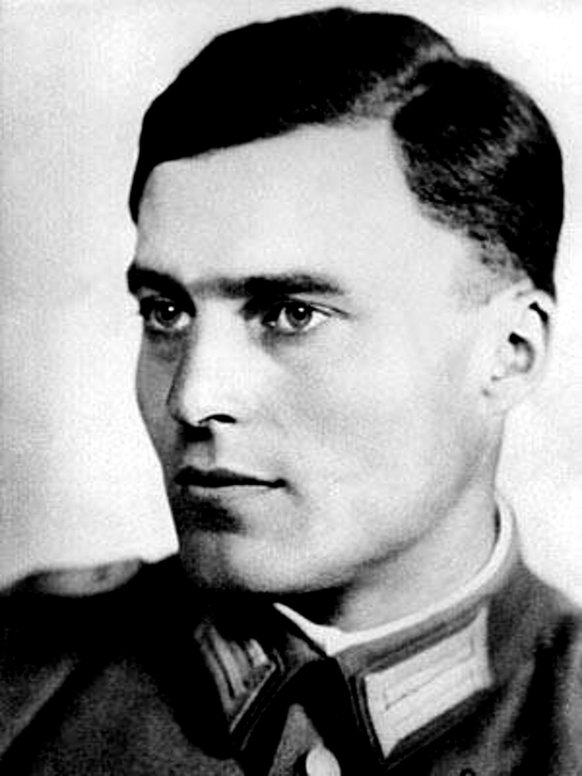 Porträt Claus von Stauffenberg (1907-1944)