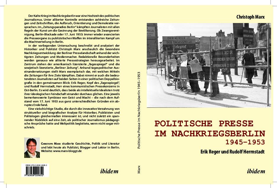 Politische Presse im Nachkriegsberlin Christoph Marx