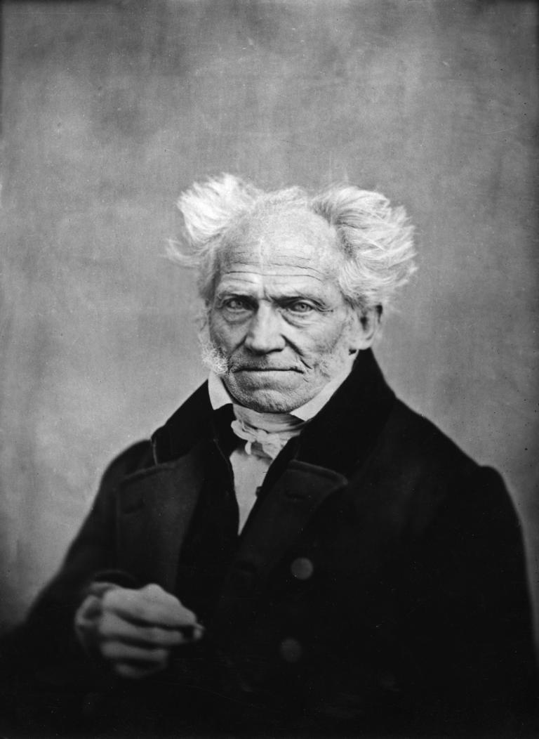 Porträt Arthur Schopenhauer